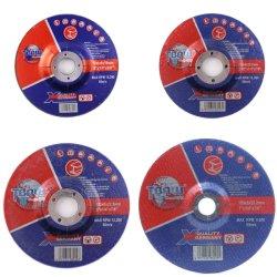 عجلات تجليخ السندات الكاشطة المتينة من نوع Resinoid T27 مقاس 2.5/3 صافٍ في المصنع للفولاذ المعدني