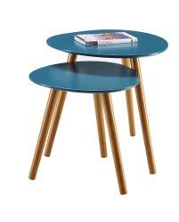غرفة معيشة على الطراز الحديث على الطراز الصينى وطاولة قهوة مع ساق خشبية