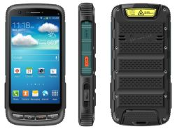 De Larga Distancia teléfono de alto nivel lector UHF RFID Handheld PDA