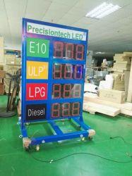 مؤشر LED IP65 لمحطة الغاز الخارجية مؤشر السعر علامة سعر الغاز Display (شاشة العرض
