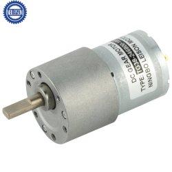 37 مم 6 فولت 12 فولت 24 دورة في الدقيقة منخفضة 1 n. M محرك تروس معدني كهربائي من صندوق تروس Micro DC عالي عزم الدوران للروبوت والستارة الكهربائية