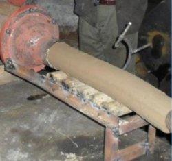 خزفي خام المواد صناعة آلة خزفي خزفي كلاي تفريغ المعوج المطحنة