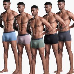 Сшитые нижнее белье Custom мужская нижнее белье Боксерские шорты мужской нижнее белье
