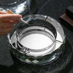 18cm の家の装飾はガラス器具を煙る人工的な水晶ガラスの技術を制作する
