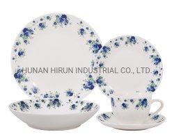 Blue Rose, el diseño de nuevos vajilla porcelana China con la etiqueta
