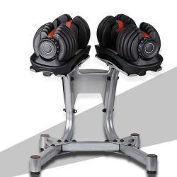 Verstelbare standaard voor standaard-Dumbbell Rack Home Fitness