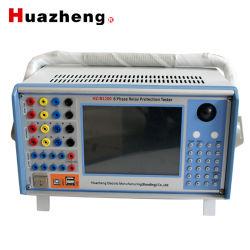 Injector Atual Seconday microcomputador 6 Dispositivo de Teste do Relé de Proteção de fase