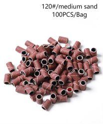 100PCS/Bag Red Nail Drill Grinder Head Sand Ring Polling Ytmj11-A-2