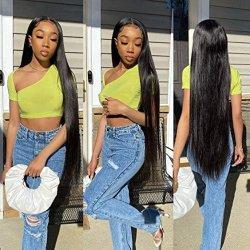 150% كثافة مستقيمة لace جبهة Wigs الشعر البشري wigs ل نساء أسوات