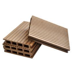 أرضية سطح السفينة الخارجية بالجملة WPC البلاستيك الخشب المجمع منصة خشب الزان خشب خشبي أبيض أرضية متينة