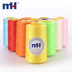 Großhandel Industrie Nähmaschine Gewinde 100% Gesponnen Polyester 40/2 40/3 5000yds Nähgewinde
