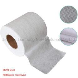 Media non tessuti di filtro dell'aria del tessuto Pfe95 Pfe99 di 100% pp Meltblown