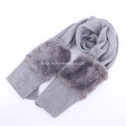 Het modieuze Ontwerp breit de Warme Sjaal van de Zak van de Wol