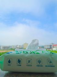 Nettoyage des tissus non tissés jetables Lingettes humides pour bébé serviette de tissu