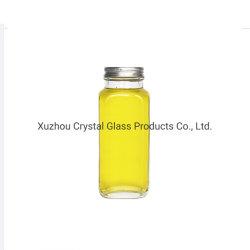 bottiglie di vetro del Juicer quadrato francese 12oz che impaccano per la bevanda