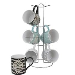Supporto domestico della tazza di caffè della cremagliera dell'utensile della decorazione