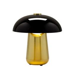 Nouveau Ongo batterie LED en acier au carbone pour la maison de lampe de table pour l'hôtel