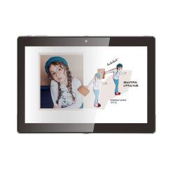 Новая конструкция 10.1-дюймовый ЖК-носителя рекламы плеер Настенное крепление для Android планшетный ПК с поддержкой Poe для больницы