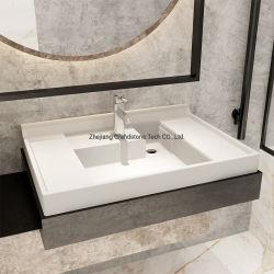 تصميم فريد سطح صلب متغلغل في حوض غسول الحجر الصناعي