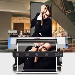Gran descuento Kingjet dx5 XP600 Impresora de inyección de tinta de 1,6 millones de 1,8 millones de 3,2 millones de impresora de gran formato papel tapiz de la máquina de impresión digital flexo Flex Plotter impresora solvente Eco