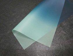 Blau auf grünem Automobil-PVB Film für Auto-Windschutzscheiben-Glas 0.76mm