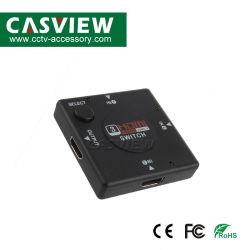 3X1 коммутатор HDMI 3 входа HDMI 1 выход HDMI Full HD 1080P поддерживает HDMI: 1,3 миллиарда 3 порта коммутатора HDMI разветвитель питания не требуется видеомикшер