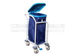 Медицинские синий/желтый цвет один из лотков больницу постельное белье грязные повозок и тележки