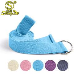 Equipamento de ginástica resistência de algodão de alta qualidade a cinta de ioga