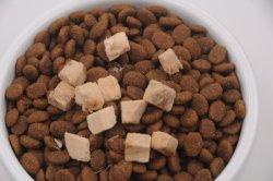 Alimento per animali domestici asciutto ad alta percentuale proteica libero della carne fresca dell'alimento per animali domestici dell'animale domestico del rifornimento di cane dell'alimento di gatto del glutine nutriente naturale dell'alimento