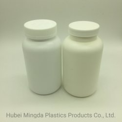 개인 건강 식품용 흰색 500cc 플라스틱 포장