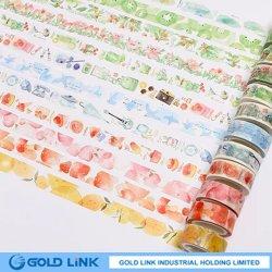 Imballaggio del nastro di Washi di disegno di modo di DIY che fa articolo di cartoleria