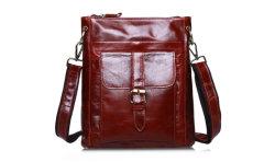 حقيبة تنقل حقيبة يد جلدية حقيقية بتصميم جديد