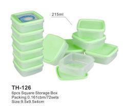 4PCS/Установка прозрачной вакуумной свежие окно/ продовольственной контейнер/коробка для хранения для производства продуктов питания