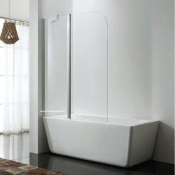 Schermo di acquazzone del perno sulla vasca di bagno