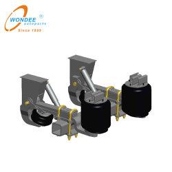 Fabricant de pièces auto 13t, type à ressort de l'air pour la suspension pneumatique semi-remorque