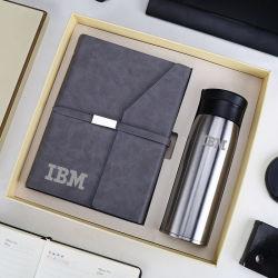Conjunto de oferta de notebooks empresariais personalizados com jarra térmica para Cliente VIP