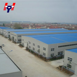 Pre diseñado China Prefabricados de estructura de acero Taller Edificio en venta