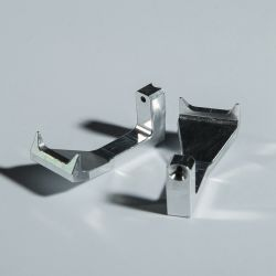 Высокая точность обработки алюминия проверку трубки захватов держателя OEM на заказ металлические зажимы для медицинского использования