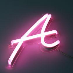 3D levou a luz do canal de exibição de letra travando Neon Personalizado Assinar