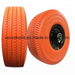 10-дюймовый дисплей высокого качества PU вспененный твердых резиновые колеса