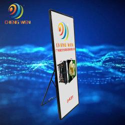 Cartel de cristal de espejo de la publicidad Display de LED SMD con armazón de aluminio