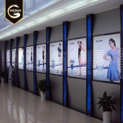 Оо Китая Custom большой открытый магазин передний светодиодный индикатор акрилового волокна подписать сверхтонкий рекламы освещения в салоне-0411
