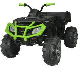Los niños, paseo en coche de ATV Quad, viaje en coche