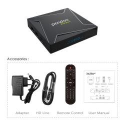 Android de alta qualidade 8.1 Smart Set Top Box da TV Pendoo X10 MAIS S905X2 2.1 HD 1080p 60fps apoiar o Youtube a Netflix