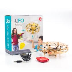 소형 무인비행기 아이를 위한 적외선 센서 UFO 비행 장난감 감응작용 항공기 Quadcopter