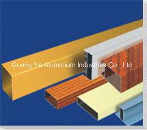 PVDF Beschichtung Aluminiumprofil Aluminiumlegierung 6063 zuverlässiger Lieferant
