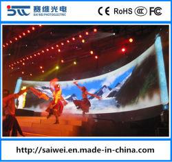 Для использования внутри помещений P РП3.91 Реклама светодиодный дисплей с единичным параметром для полноцветной печати на экране панели управления этап фон проката видео стены модулей системной плате входа в формате HD