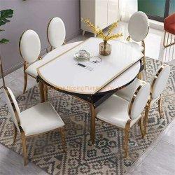 Función moderna mesa y silla banqueta Banco / Asientos Cafe juegos de mesa de sofá moderno mobiliario de restaurante personalizado