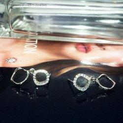 Mode Bijoux Argent 925 Earring cadeau pour les femmes/fille