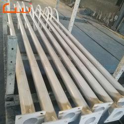 6m et la pulvérisation de galvanisation à chaud Q235 de l'acier de la lampe témoin de la rue Post